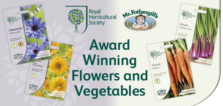 RHS - Award winning flowers and vegetables