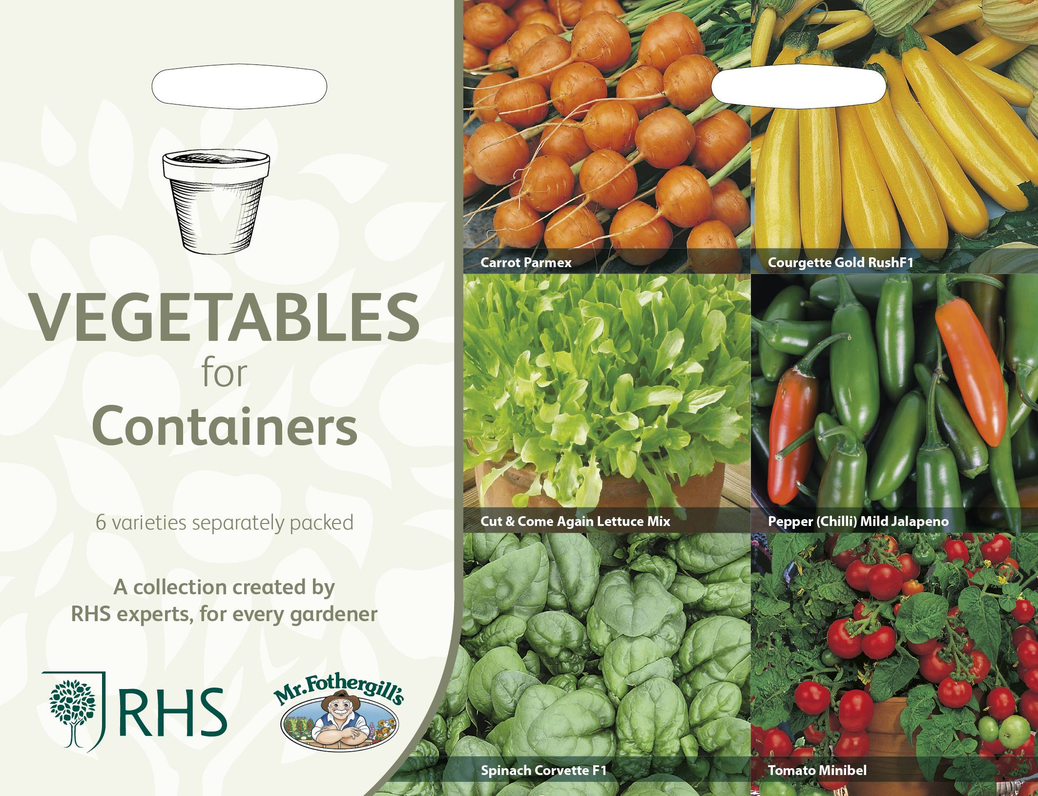 rhs collection packet veg