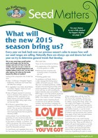 Spring 2015 Seed Matters Newsletter